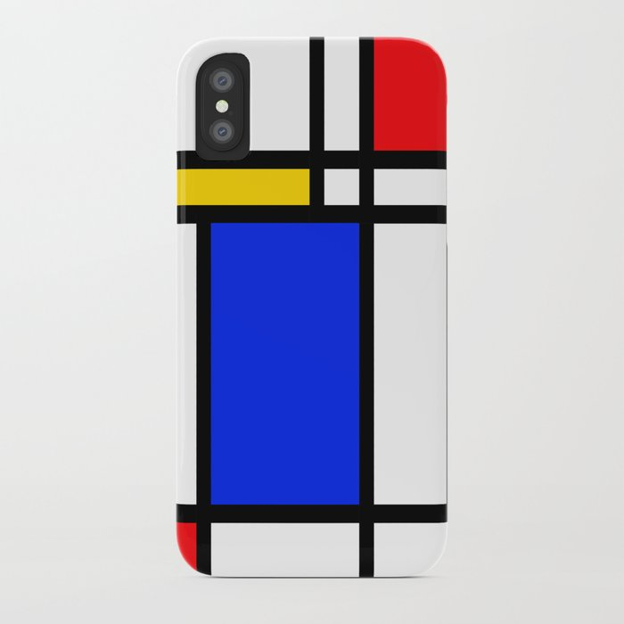 mondrian iphone case
