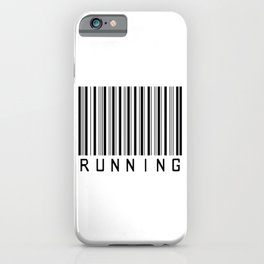 Barcode - Running  iPhone Case
