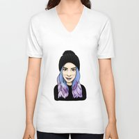 gemma V-neck T-shirts featuring Gemma by hannahbee