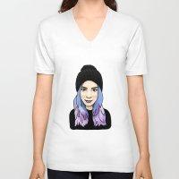 gemma correll V-neck T-shirts featuring Gemma by hannahbee