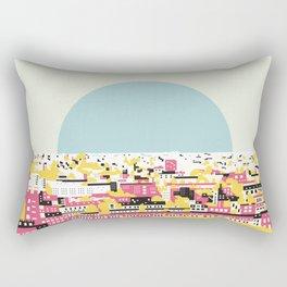 Rooftop view Rectangular Pillow