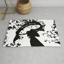 Wander Woman Splatter Rug