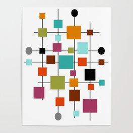 Mid-Century Modern Art 1.3.1 Poster