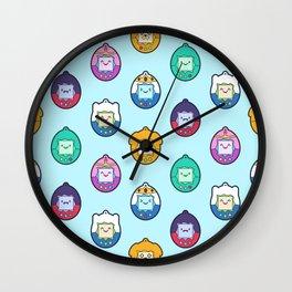 Tamago Chibi Adventure Digital Pets Wall Clock
