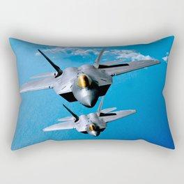 Lockheed Martin F-22 Raptor Rectangular Pillow