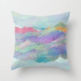 Everything Beautiful- Mountain Throw Pillow
