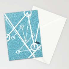 Undulate - whale edition Stationery Cards