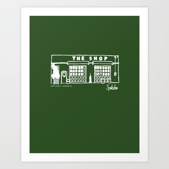 The Shop Art Print