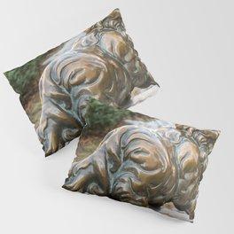 bronze cat Pillow Sham