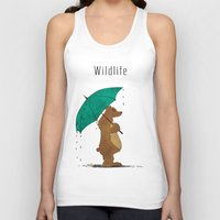 wildlife Tank Tops featuring Wildlife by AhaC