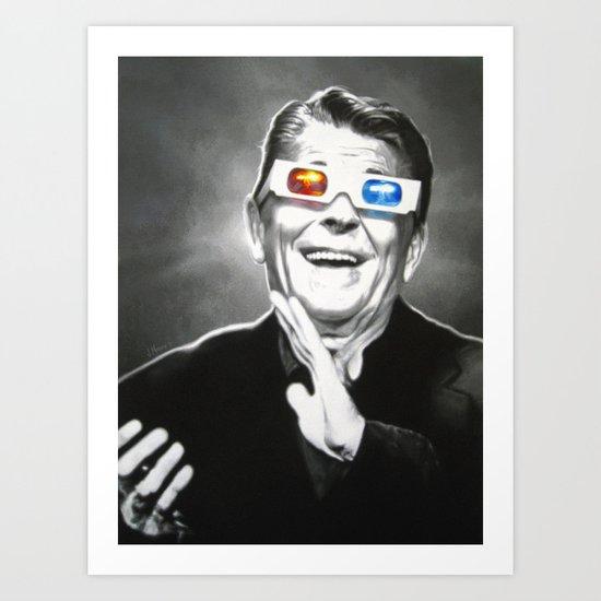 Reaganesque Art Print