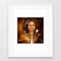 pagan Framed Art Prints featuring Pagan Avatar by Bryan Dechter
