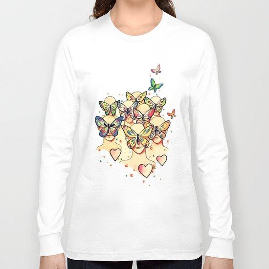 Butterfly Caught Long Sleeve T-shirt