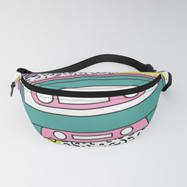 Back to the 90s with cassette Fanny Pack