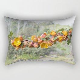 Branch of Flowers Rectangular Pillow