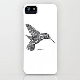 Clockwork Hummingbird iPhone Case