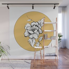 Peony for your Thoughts Wall Mural