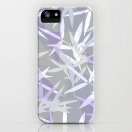 Elegant Grey Origami Geometric Effect Design iPhone Case