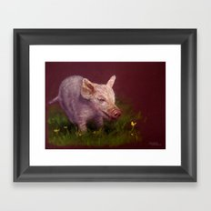 { Pig } Framed Art Print