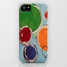 Talus Floats iPhone Case