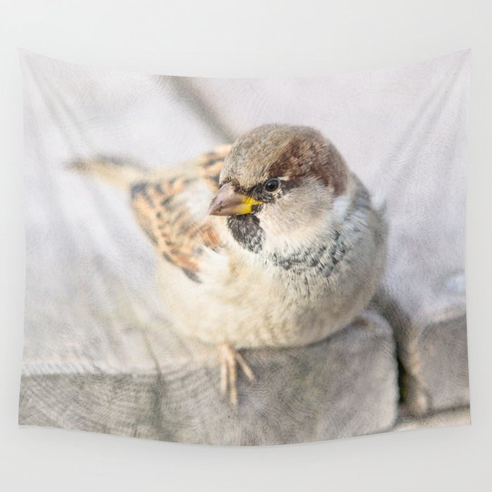 Sparrow - After The Transatlantic Wall Tapestry