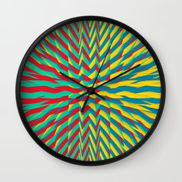 Spiked Drinks Wall Clock
