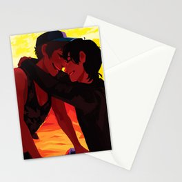 In the fire Stationery Cards