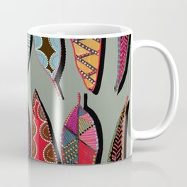 Leaves lined up Coffee Mug