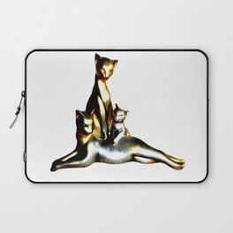 Two Cats And A Kitten Laptop Sleeve