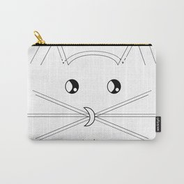 Minimalist Cat Carry-All Pouch