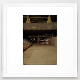 AA brug nightshot Framed Art Print