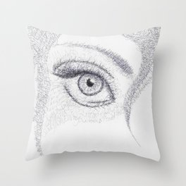 Wordplay Throw Pillow