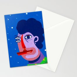 Face 1 Stationery Cards