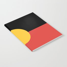 Australian Aboriginal Flag Notebook