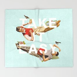 Take It Easy Throw Blanket