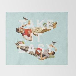 Take It Easy Throw Blanket