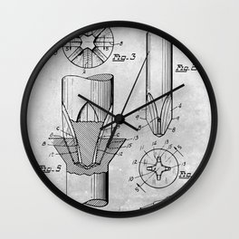 Screw driver Wall Clock