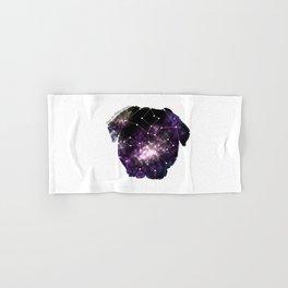 Galaxy Pug Cute Constellation Hand & Bath Towel