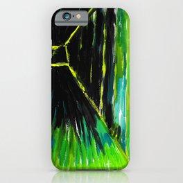 Dark Floors Green Palette By Fairychamber  iPhone Case