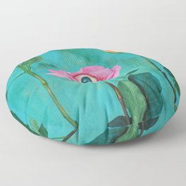 Beauty is in the Eye Floor Pillow