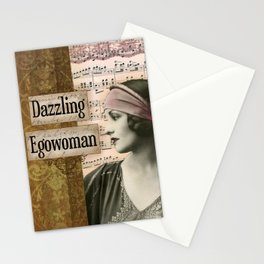 Dazzling Egowoman Stationery Cards