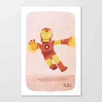 ironman Canvas Prints featuring Ironman by Popol