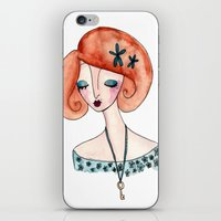 key iPhone & iPod Skins featuring Key by Katie Rhianne