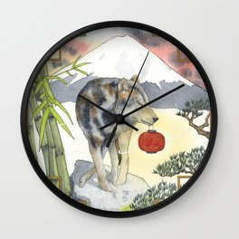 2018 Chinese New Year of the Earth Dog Wall Clock