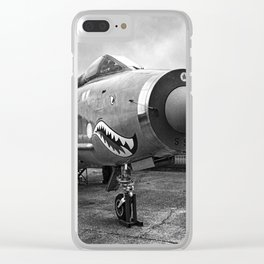 Lightning Under Stormy Skies Clear iPhone Case