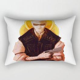 Burned Rectangular Pillow