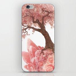Cherry Tree and Rhodochrosite iPhone Skin