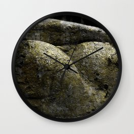 Hard as stone Wall Clock