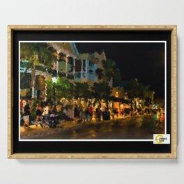 Key West 1997 Portrait - Jéanpaul Ferro Serving Tray