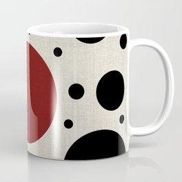 """Abstract Japanese Cow"" Coffee Mug"